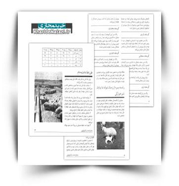 کتاب الکترونیکی پرواربندی گوسفند