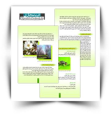 کتاب الکترونیکی کاشت و پرورش بادام