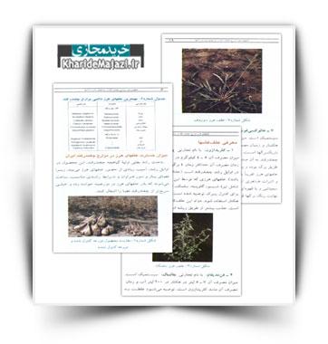 کتاب علفهای هرز مزارع چغندر قند و روشهای مبارزه با آنها