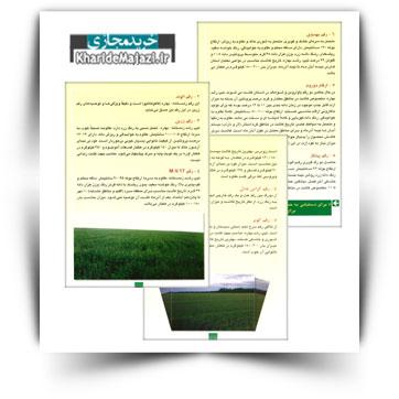 کتاب آموزشی ارقام گندم توصیه شده برای مناطق مختلف استان فارس