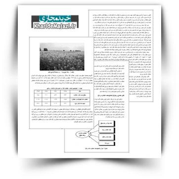 کتاب آموزشی مبانی کاربری تاثیر تنش خشکی در کلزا