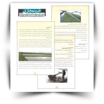 کتاب آموزشی توصیه های فنی جهت مقابله با کم آبی در اراضی شالیکاری