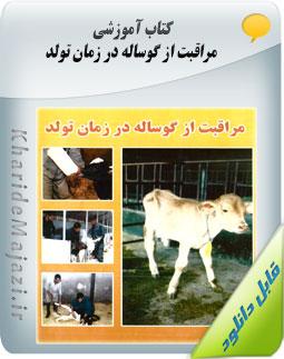 کتاب آموزشی مراقبت از گوساله در زمان تولد