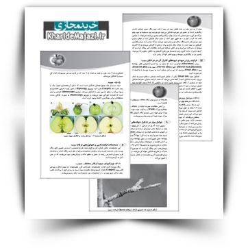 کتاب آموزشی مبانی تغذیه درختان سیب با تکیه بر نیاز های غذایی آن