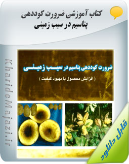 کتاب آموزشی ضرورت کوددهی پتاسیم در سیب زمینی