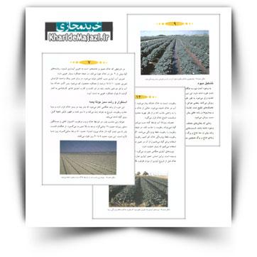 کتاب آموزشی مدیریت آبیاری در زراعت پنبه